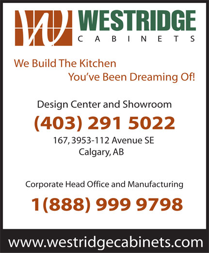 Ads Westridge Cabinets Ltd