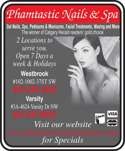 Ads Phamtastic Nails & Spa