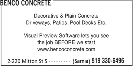 Ads Benco Concrete