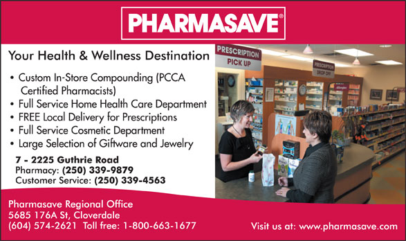 Ads Pharmasave Regional Office