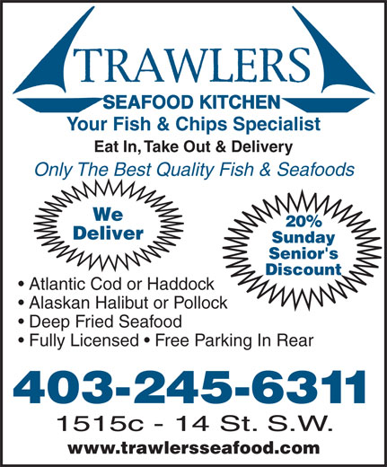 Ads Trawler's Seafood Kitchen