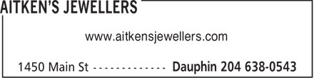 Ads Aitken's Jewellers