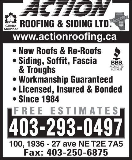Ads Action Roofing & Siding Ltd