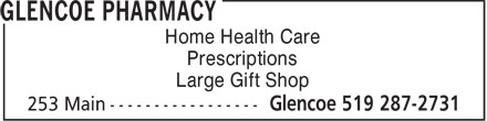 Ads Glencoe Pharmacy