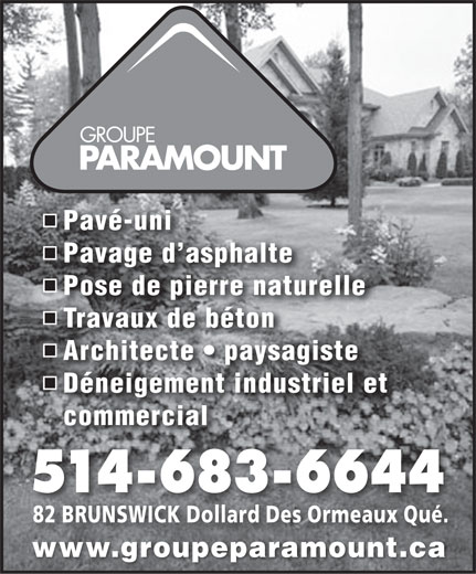 Ads Groupe Paramount
