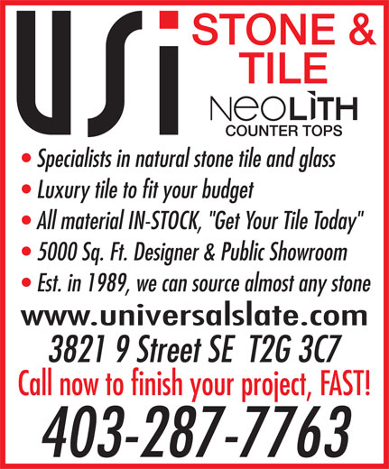 Ads Universal Slate International Inc