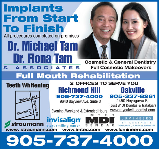 Ads Tam Michael S P Dr (Richmond Hill Dental Group)