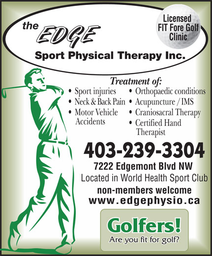 Ads Edge Sport Physical Therapy Inc