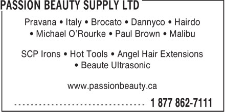 Ads Passion Beauty Supply Ltd