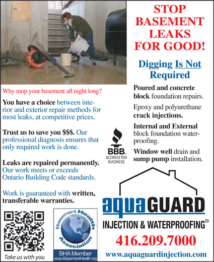 Ads Aquaguard Injection &amp; Waterproofing