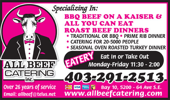Ads All Beef Catering Inc