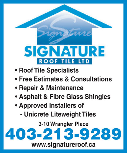 Ads Signature Roof Tile Ltd