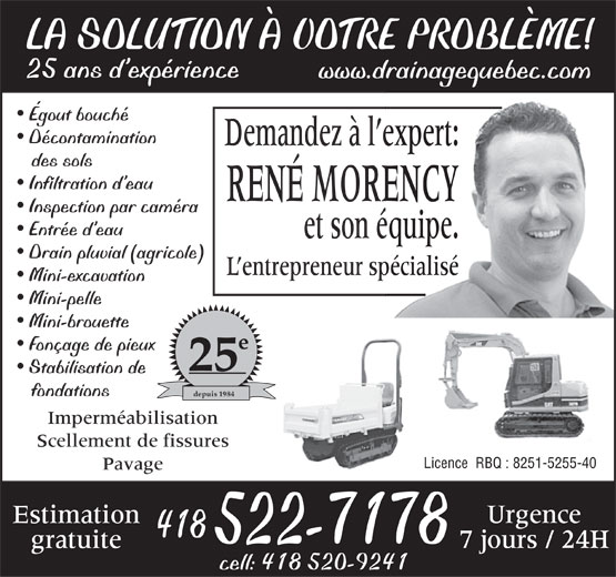 Ads Morency René Entrepreneur