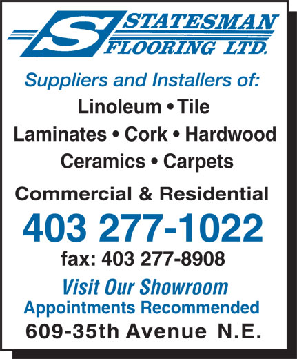 Ads Statesman Flooring Ltd