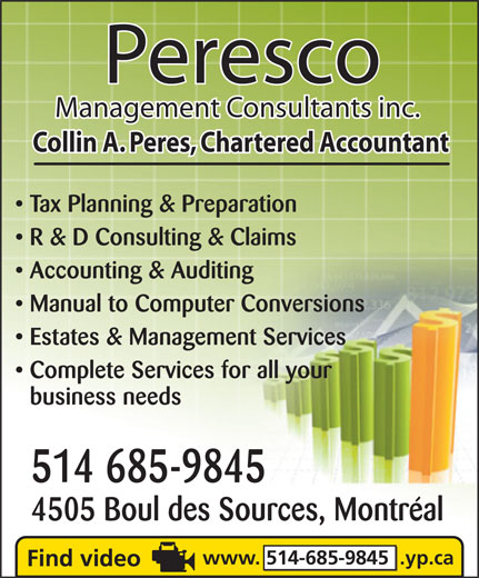 Ads Peresco Management Consultants Inc