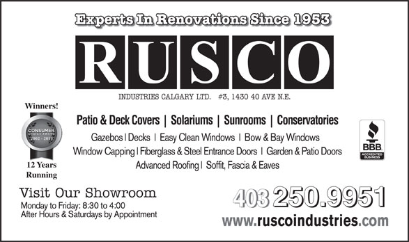 Ads Rusco Industries Calgary Ltd