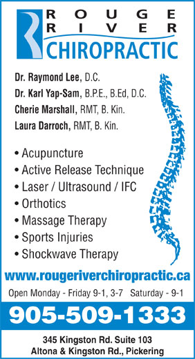 Ads Rouge River Chiropractic