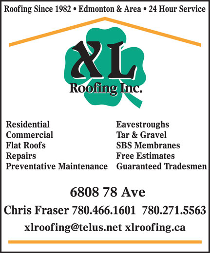 Ads XL Roofing Inc