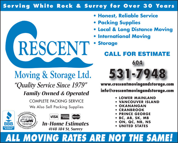 Ads Crescent Moving &amp; Storage Ltd