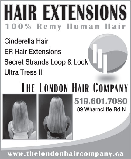 Ads The London Hair Company