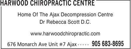 Ads Harwood Chiropractic Centre