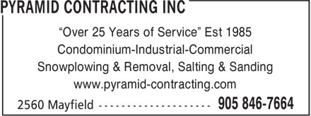 Ads Pyramid Contracting Inc