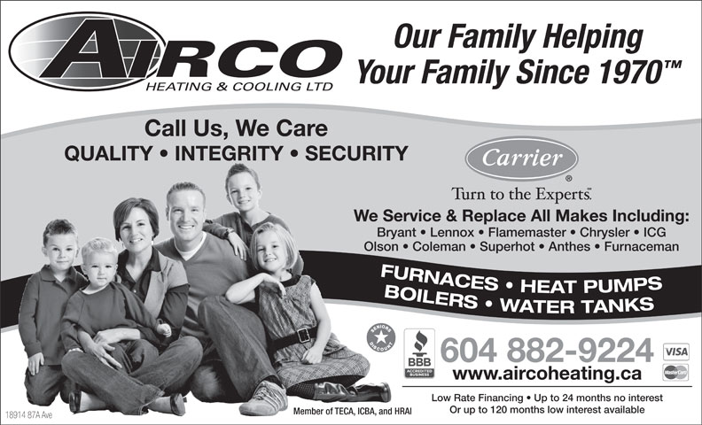 Ads Airco Heating & Cooling Ltd