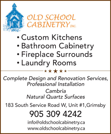Ads Old School Cabinetry Inc