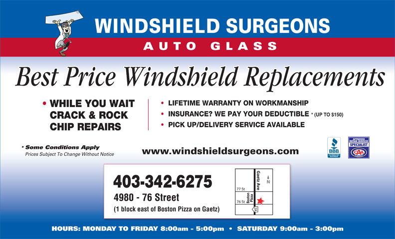 Ads Windshield Surgeons