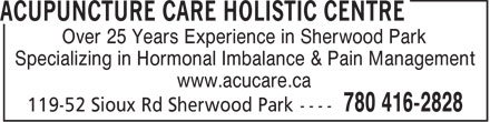 Ads Acupuncture Care Holistic Centre