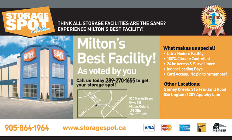 Ads Storage Spot of Milton
