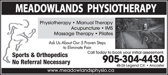 Ads Meadowlands Physiotherapy