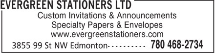 Ads Evergreen Stationers Ltd