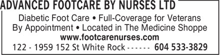 Ads Advanced Footcare By Nurses Ltd