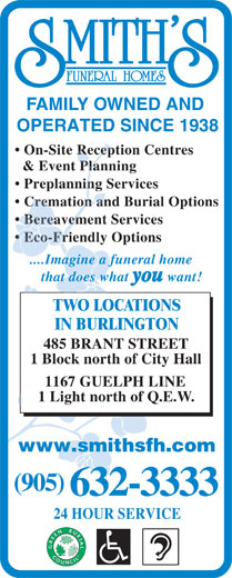 Ads Smith's Funeral Homes