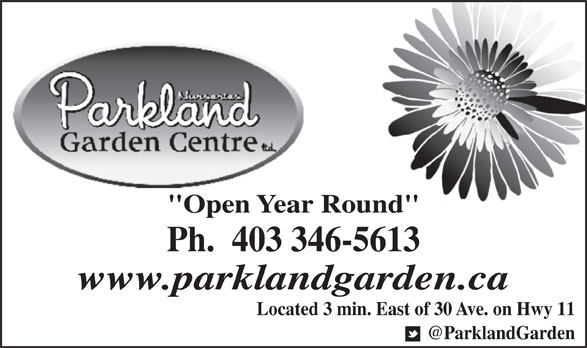 Ads Parkland Nurseries & Garden Centre Ltd