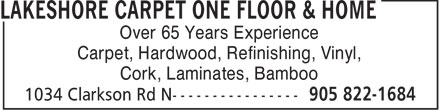 Ads Lakeshore Floor Carpet One Floor &amp; Home