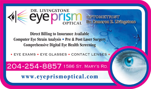 Ads Eye Prism Optical Inc