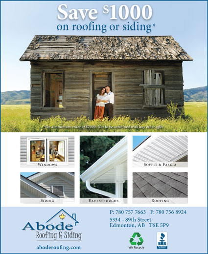 Ads Abode Roofing &amp; Siding