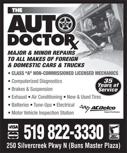 Ads The Auto Doctor