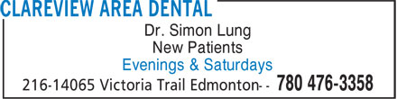 Ads Clareview Area Dental