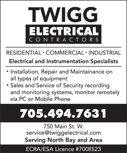 Ads Twigg Electrical