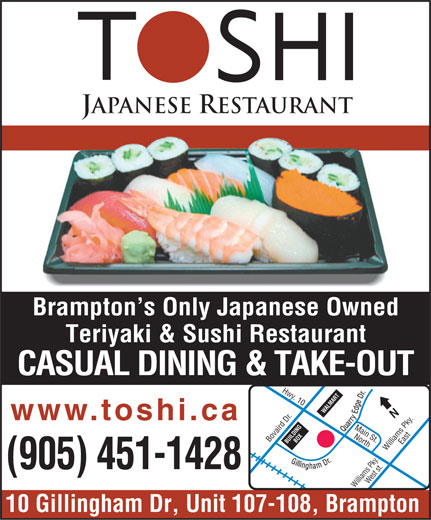 Ads Toshi Japanese Restaurant