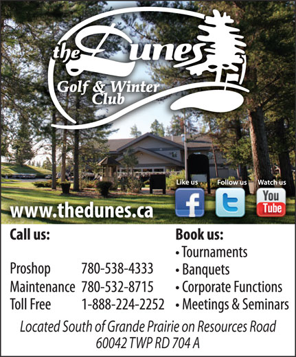 Ads Dunes Golf & Winter Club Inc, The