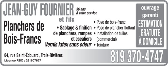 Ads Fournier Jean-Guy et Fils