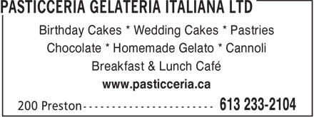Ads Pasticceria Gelateria Italiana Ltd