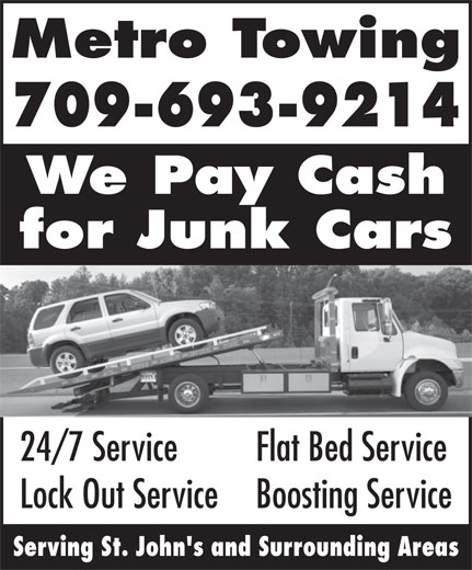 Ads Metro Towing