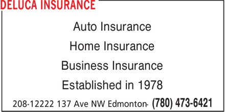 Ads Deluca Insurance Services Inc