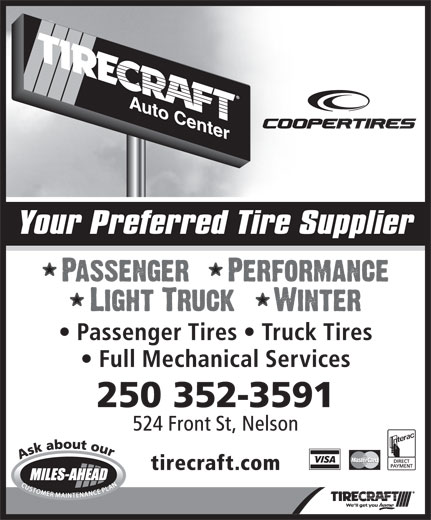 Ads Tirecraft Auto Center