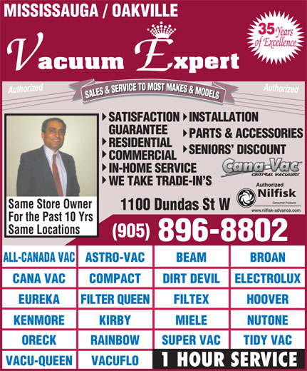Ads Vacuum Expert